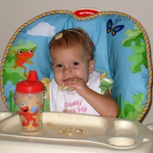 how to get baby to eat finger foods