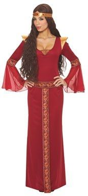Franco American Novelty Company Medieval Guinevere Dress Womens Adult Costume