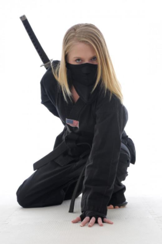 Kunoichi - female ninja