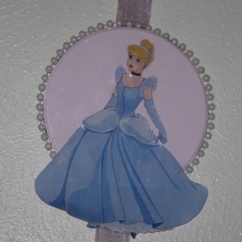 DIY Cinderella plaque