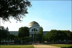 image credit - Wikimedia commons - a photo of the National Natural History Museum, Smithsonian in Washington, D.C. from The National Mall side.