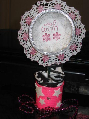 Make a wish flowerpot