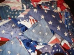How and Where to Dispose of a US Flag