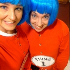 Costumes for Twins - Thing 1 and Thing 2