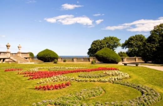 Mansion Garden in Newport