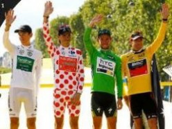 The Leader Jerseys of the Tour De France