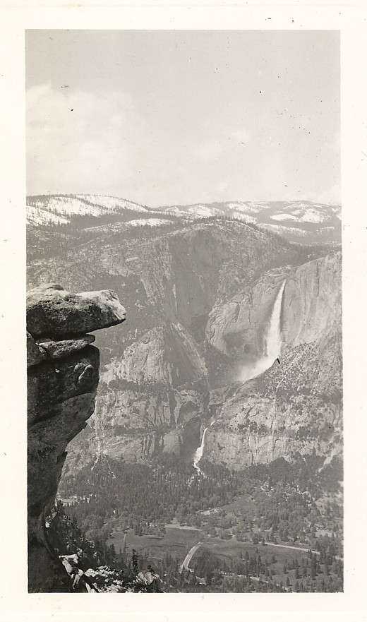 The view from Lookout Point in 1940.