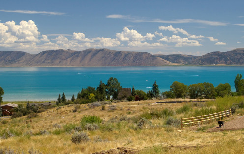 Bear Lake, east of Logan, Utah.