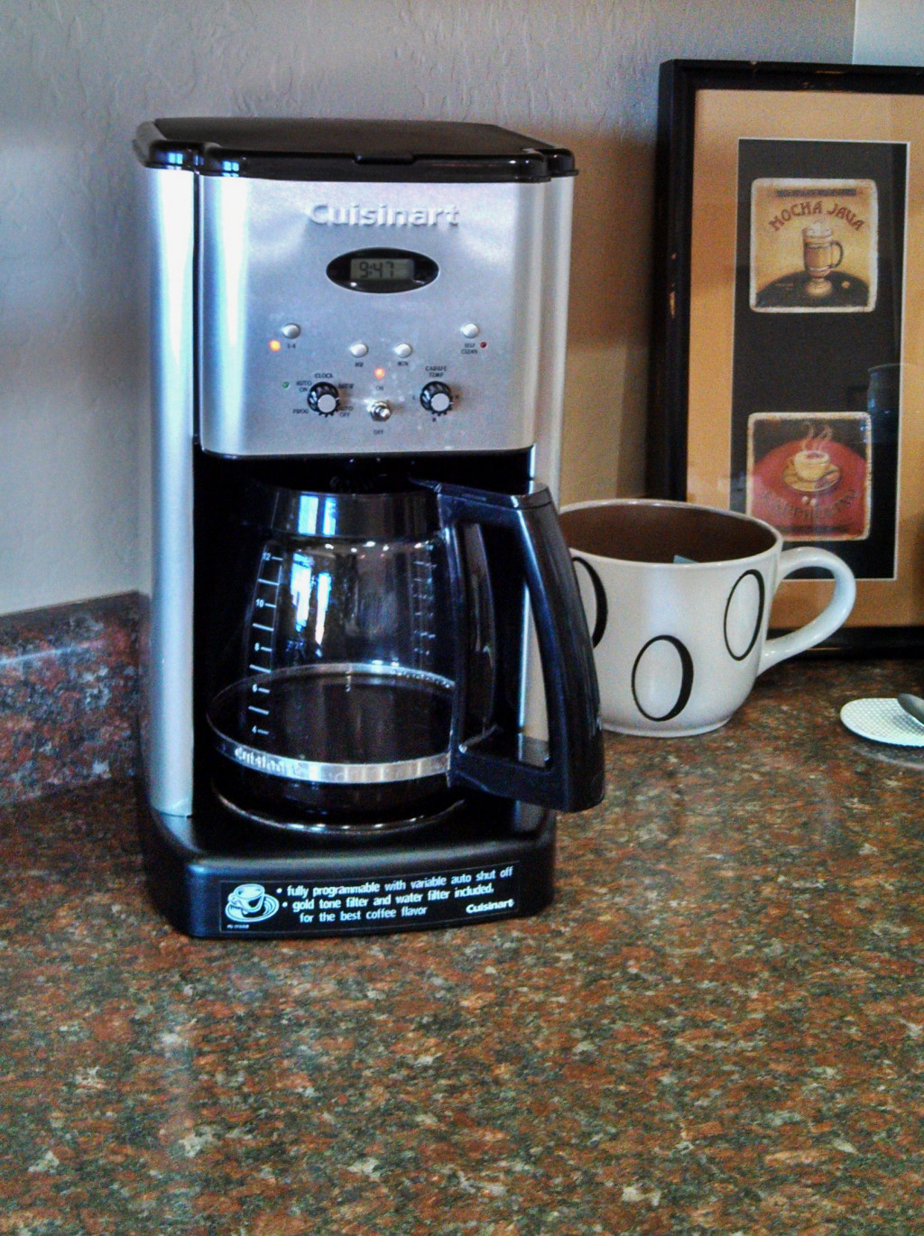 Cuisinart Coffee Maker Quit Brewing : Canot Do Without My Cuisinart Brew Central Coffeemaker