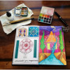 ★ Watercolour and Ink Drawing | Art Journals, Moleskines & Travel Sketchbooks