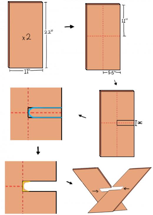 cross-shaped-magazine-rack
