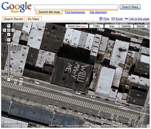 Viewable on Google Maps!