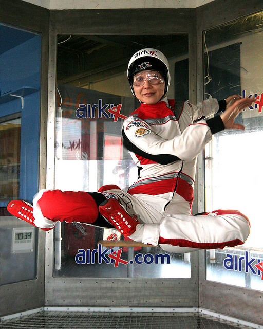 For an unforgettable date without the risks involved in skydiving!