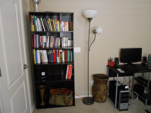 Bookshelf reorganized