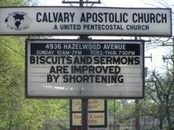 Biscuits and Sermons