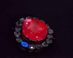 Hope Diamond Glows Red