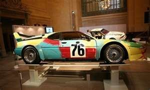 Andy Warhol's Painted Car at Grand Central Terminal