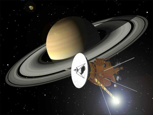 Cassini en Route to Saturn