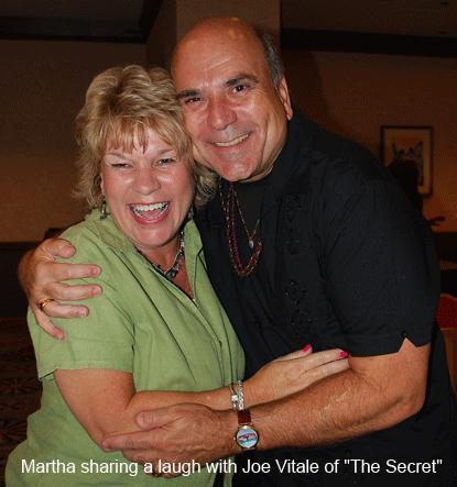 Martha Giffen and Dr. Joe Vitale