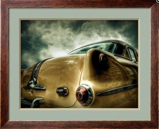 Pontiac No 1 Framed