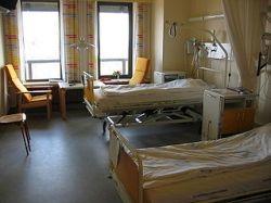 Hospital beds, by Tomasz Sienicki.