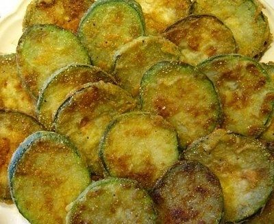 Fried zucchini.