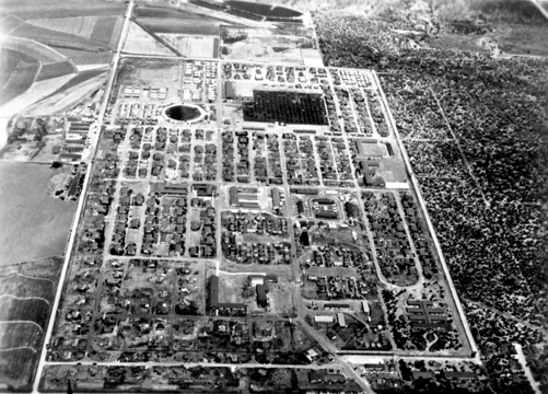 Overhead - WWII Internment camp