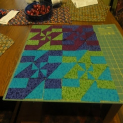 Pinwheel 4 to 9 Patch Quilt Block