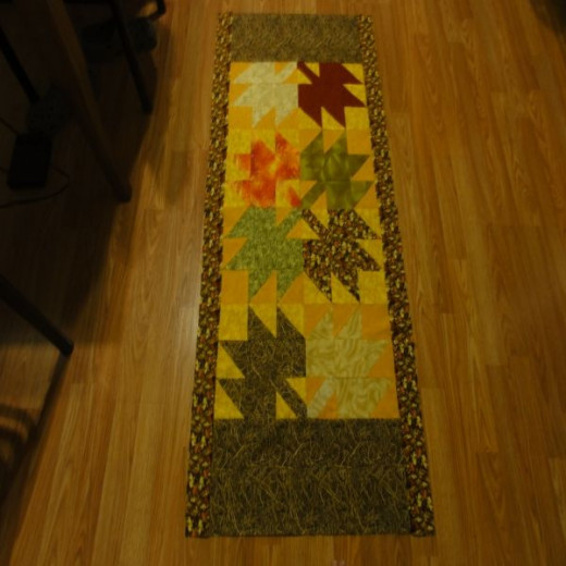 quilted floor mat