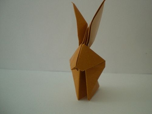 2011 is the year of the Rabbit!  Try this for placeholders or napkins. (more photos here