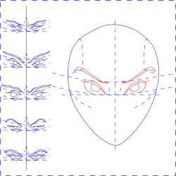 Lay Out the Eyes