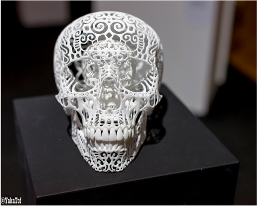 Displayed at the 3D Print Show 2013 (in Paris, France)