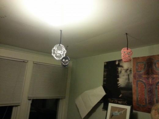 A few hanging in my decrepit office.