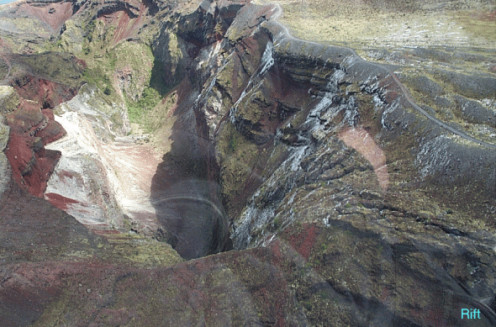 Mt. Tarawera.