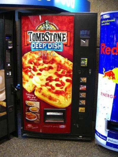 Hot pizza!