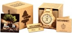 Fashionable Natural Wood Watches