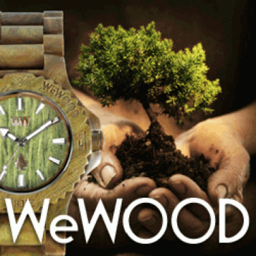 Buy A Watch Plant A Tree! The best part about buying or giving this watch. Save our Environment!