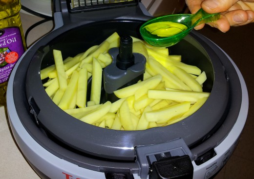 French Fries in Air Fryer