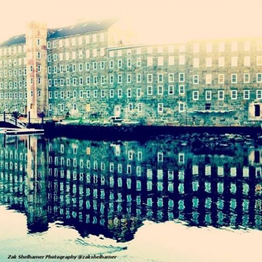 Zak Shelhamer building reflections