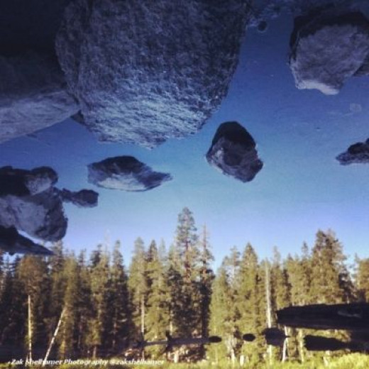 """Zak Shelhamer """"Floating Rocks"""""""