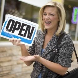 Become a business owner. Why wait? Start your own business right now.