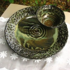Handmade Ceramic Stoneware Pottery by Tracy Shea | Dishwasher Microwave Safe