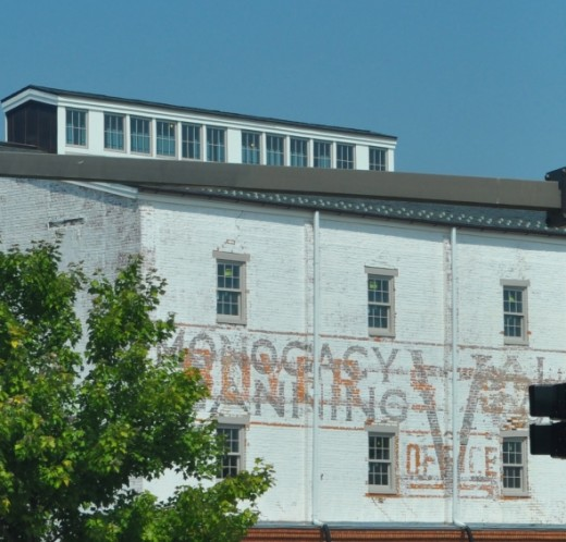 Ghost sign in Frederick, Maryland. Photo Credit:  Lori Burdoo Visit her Squidoo profile:  http://www.squidoo.com/lensmasters/gottaloveit
