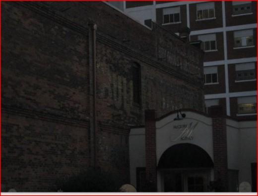 Bull Durham sign.