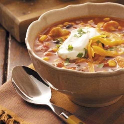 Tortilla Soup (El Torito's Sopa de Tortilla)