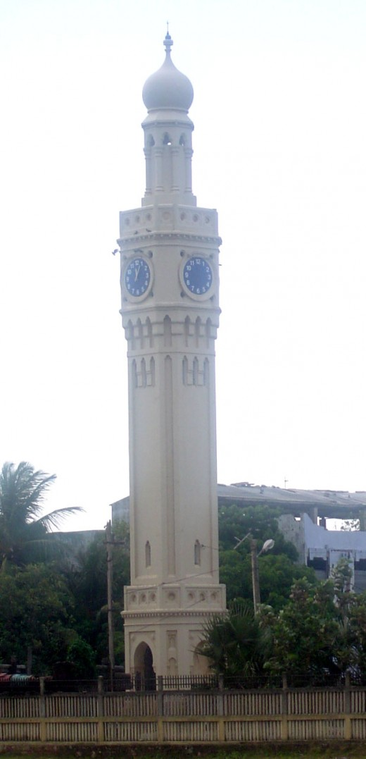 Fig.1 A Full Height View of Jaffna Clock Tower