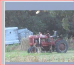 Minnesota Horticulture: Farmall B Tractor With Belly Mower Attachment for Lawn Mowing