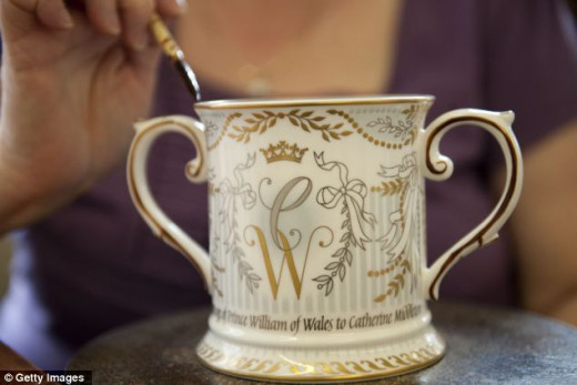 official royal wedding cup