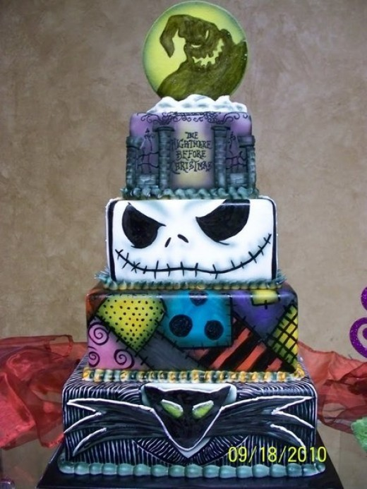 Lol this one was actually featured on cakewrecks.com (when professional cakes go horribly wrong) But I still think it's pretty cool :)