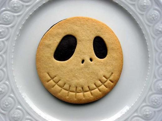 Amazing Jack Skellington cookie from Kawaii Foods!